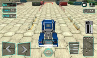 Screenshots of the Modern trucker 3D for Android tablet, phone.