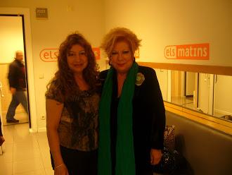 La Nuria Feliú y yo en TV3
