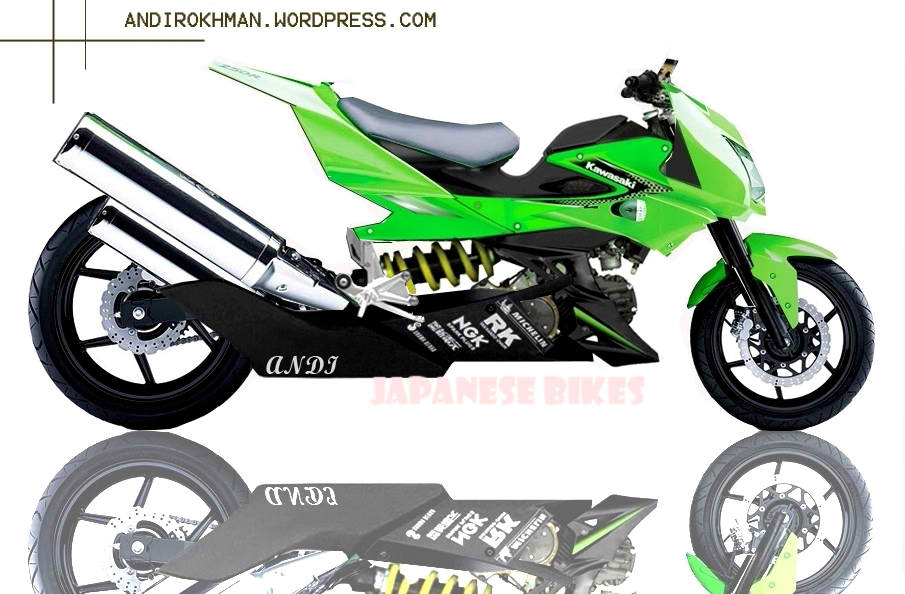 Photo Modifikasi Kawasaki Athlete