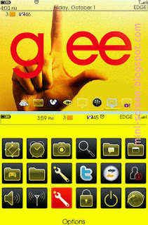 Free Glee BlackBerry Themes