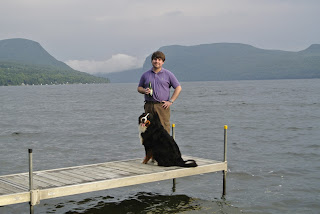 Chris Britt & Farnsworth on Lake Willoughby, VT July 2012