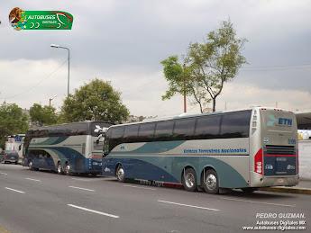 Autobuses en Mexico - Agosto 2014