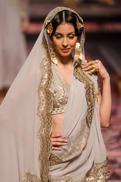 Suneet Varma India Bridal Fashion Week 2013 The Golden Bracelet