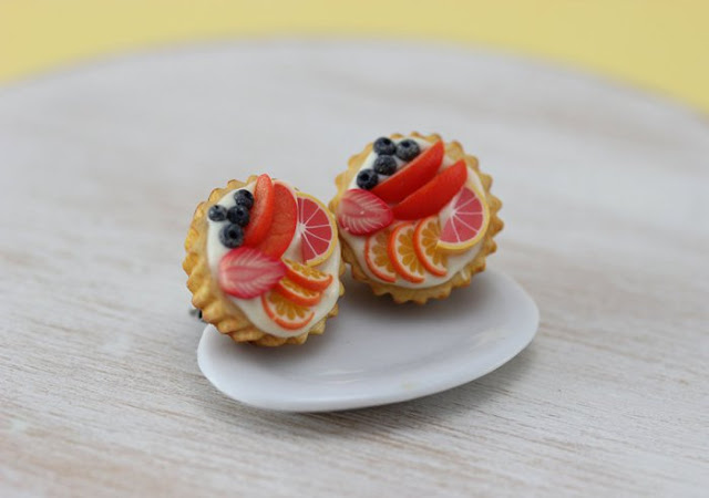 Miniature food jewellery