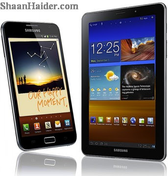 Smartphones vs Tablets - Samsung Galaxy Note and Galaxy Tab