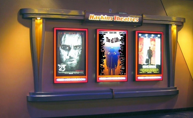 Home theater poster frames