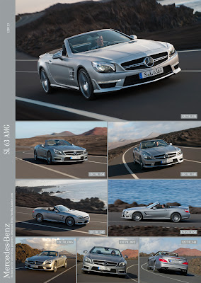 2012 Mercedes SL63 AMG R231 Offcial Press Pictures multishot