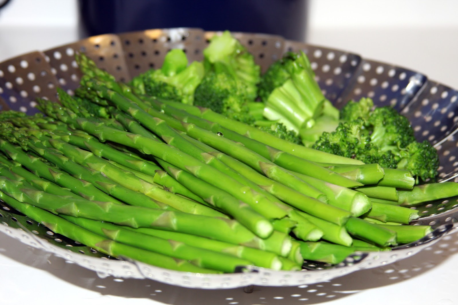 steamed asparagus - easy