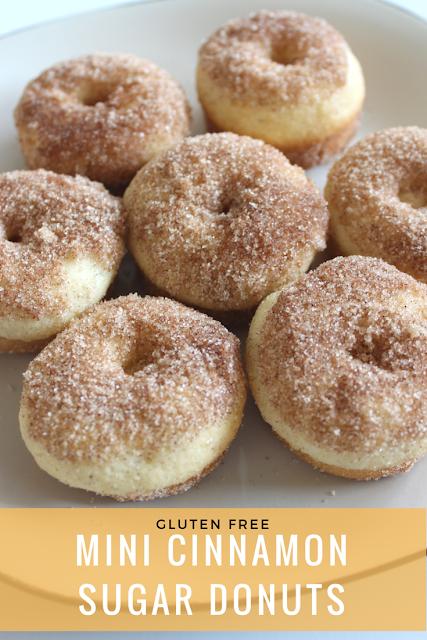 gluten free cinnamon sugar donuts