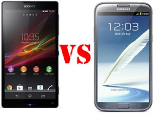 Comparison Between Sony Xperia Z And Samsung Galaxy S3