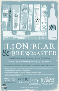 Firestone Walker - Lion, Bear, Brewmaster