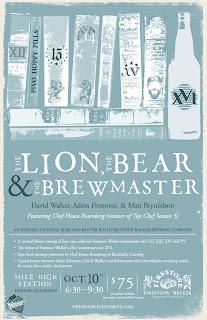 Firestone Walker - Lion, Bear, Brewmaster
