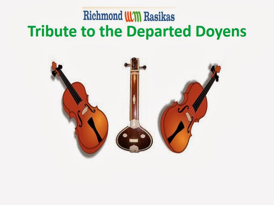 Tribute to the Departed Doyens