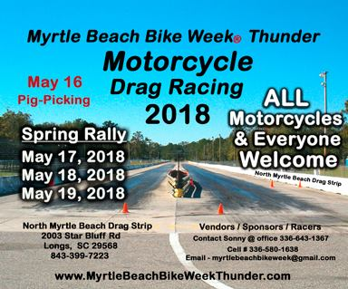 MB Bike Week MC Drag Racing