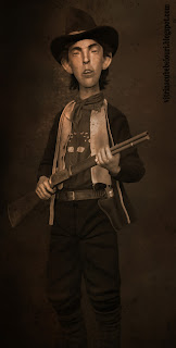 Outlaw Billy the Kid before Lincoln County War