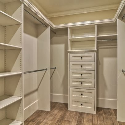 Closets modernos de madera para j venes decorar tu for Modelos de walk in closet