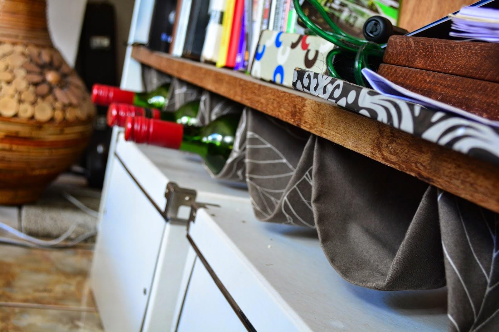 easy DIY wine rack