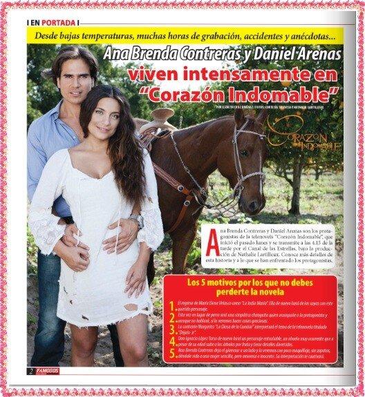... Contreras y Daniel Arenas viven intensamente en Corazon Indomable (HD