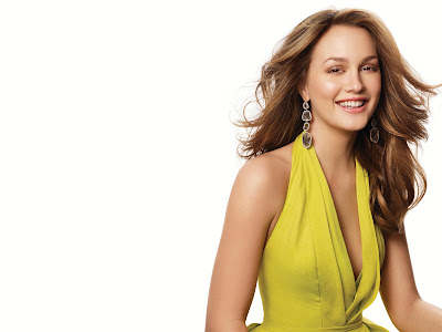 Leighton Meester Lovely Wallpaper