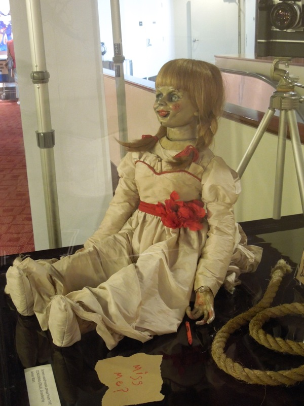 Creepy Annabelle doll prop The Conjuring