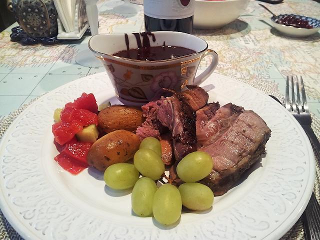 баранина в мятном соусе маринад для мяса английская кухня ухо от селедки