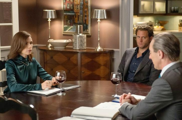 The Good Wife - Episode 6.04 - Oppo Research - Press Release