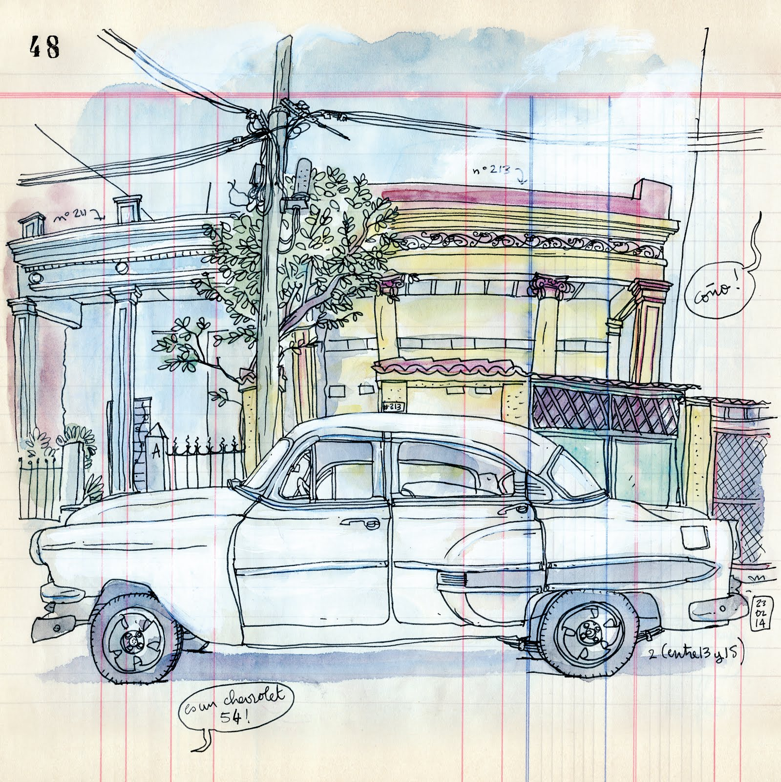 Workshop 8: Cars in the City | Urban Sketchers