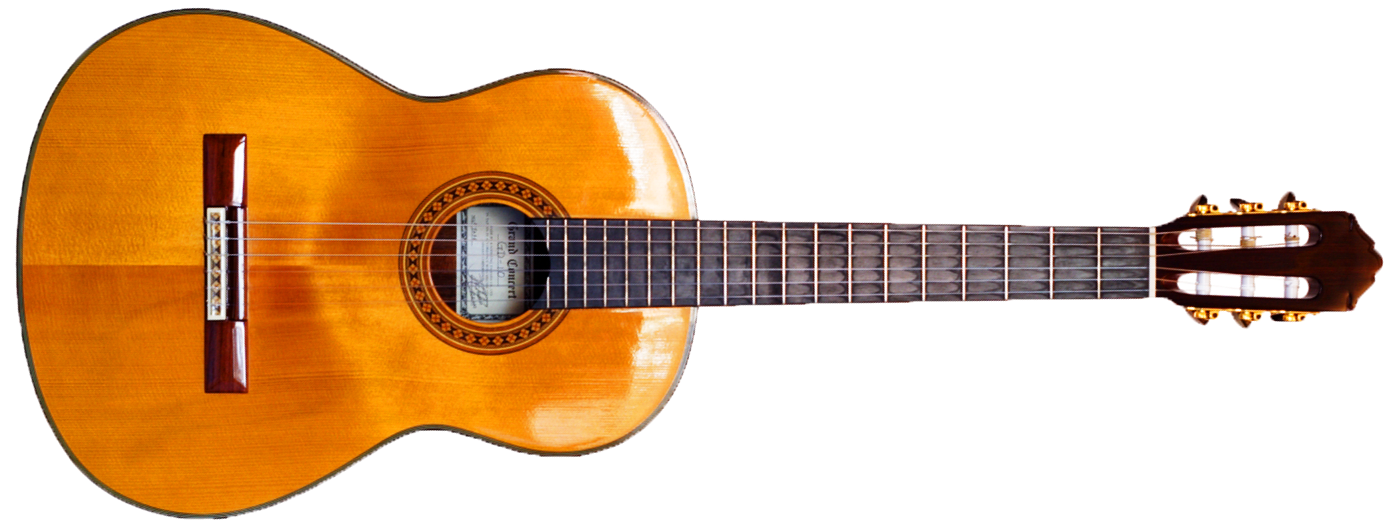 A guitar, which sounds like catarrh