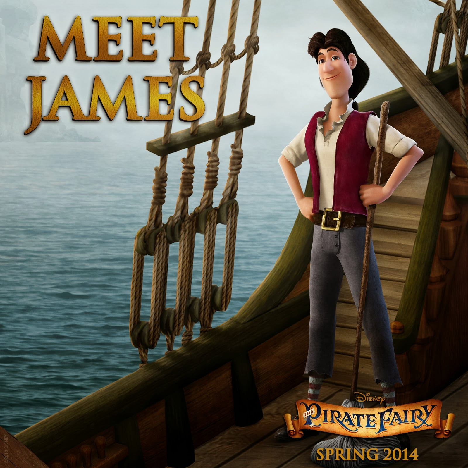 ��� ���� ������ ���� ������� The Pirate Fairy 2014 ����� PF MEET JAMES.jpg