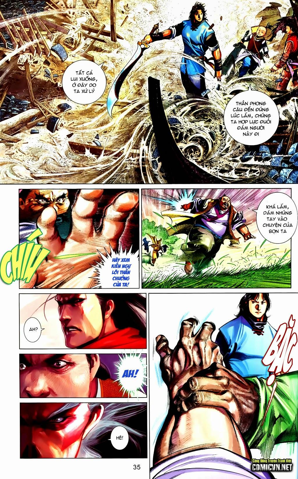 Phong Vân Chap 663 - Trang 35