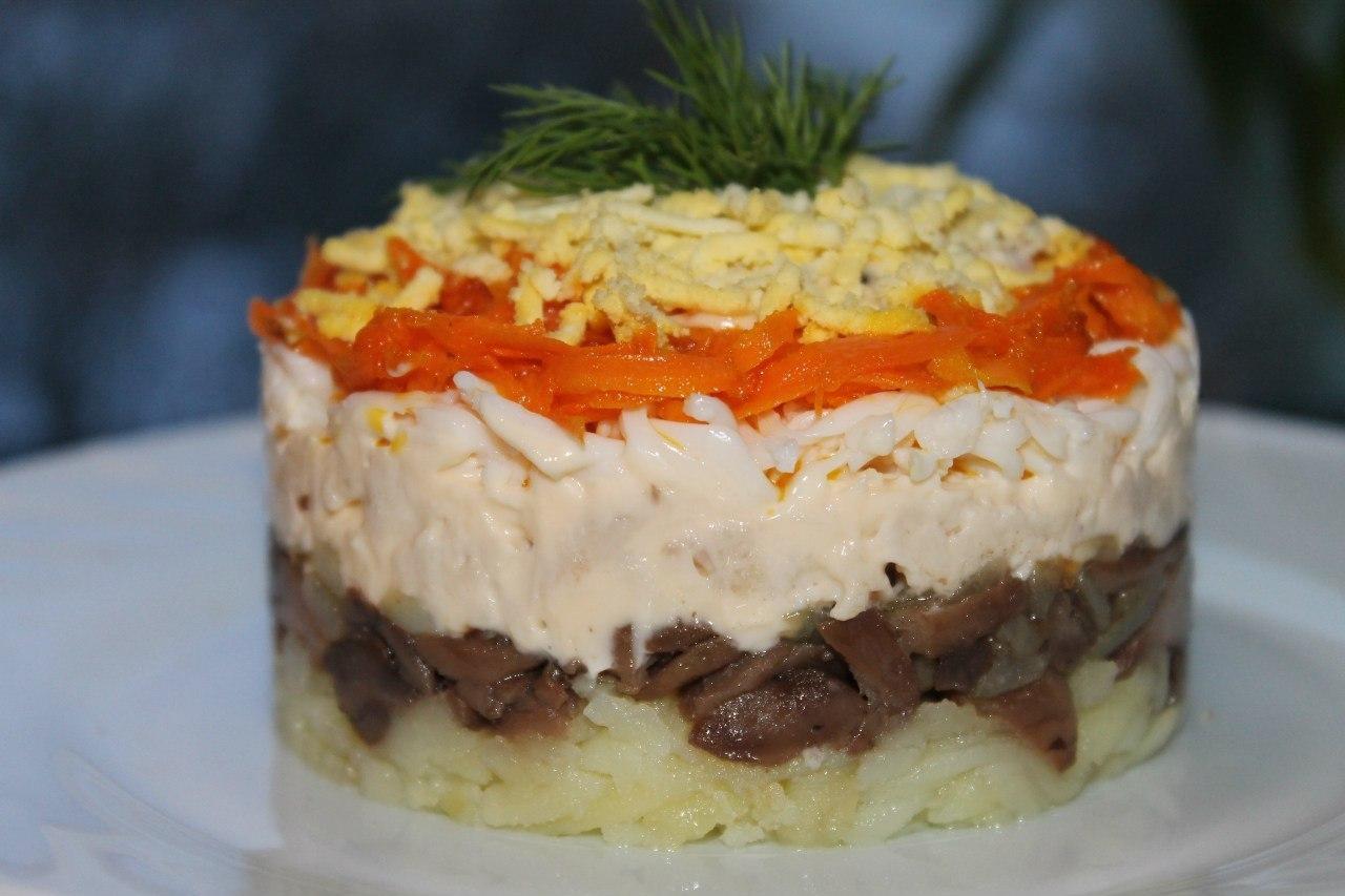 Рецепты салат лисья шубка