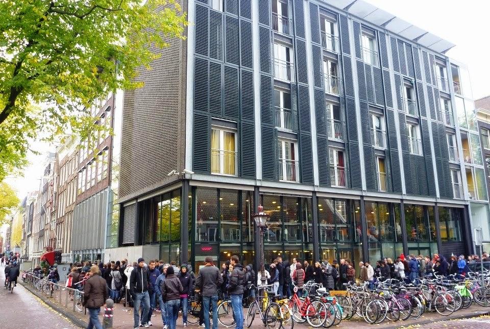 Anne Frank em Amsterdam Museu