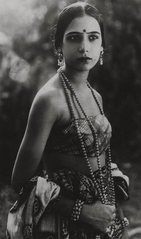 Indian Silent Film Actress Seeta Devi - 1925 - Old Indian ...