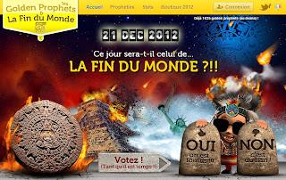 21 décembre 2012 : l'incroyable sondage avec Golden Prophets