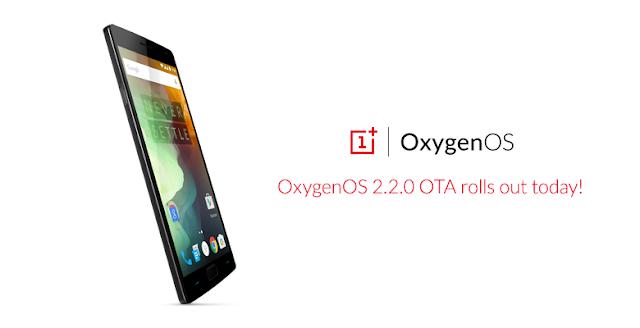 OnePlus 2 mendapatkan update OxygenOS v2.2.0 via OTA