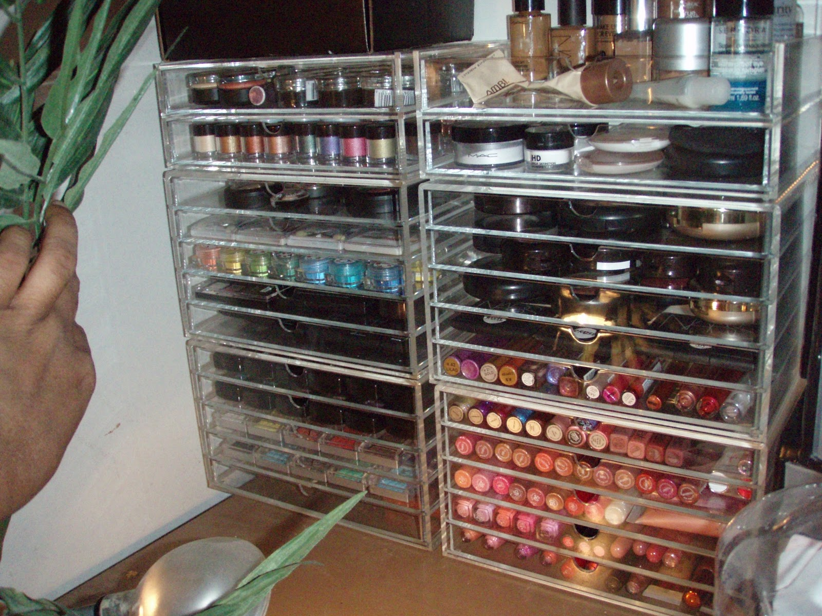 Makeup Crazie Updated Mujis Makeup Storage Sneak Peek