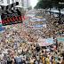 Marcha para Jesus reúne milhares de fiéis no Centro do Rio
