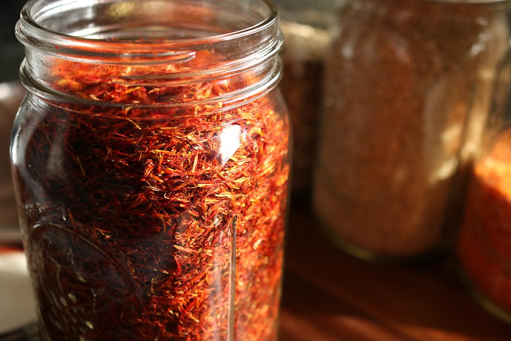 Sweet Saffron Tea