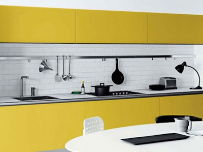 Yellow kitchen Furniture Ideas