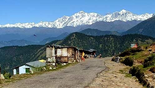 Road to Chopta