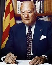 125th President of Catalonia,  Josep Tarradellas