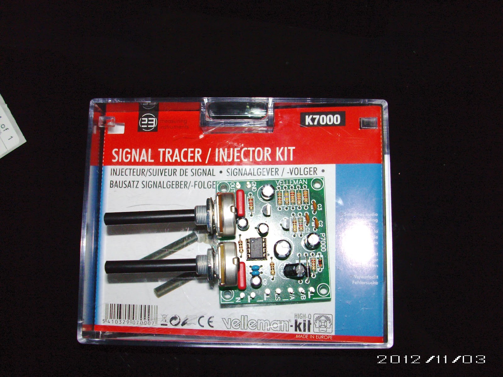 Signal Injector Kit : Electric light k signal tracer injector kit by