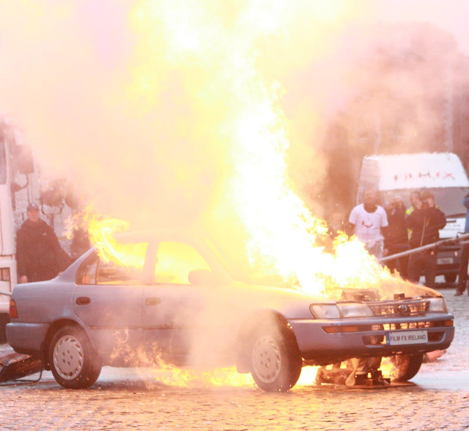 Stuntshow Car Explosion
