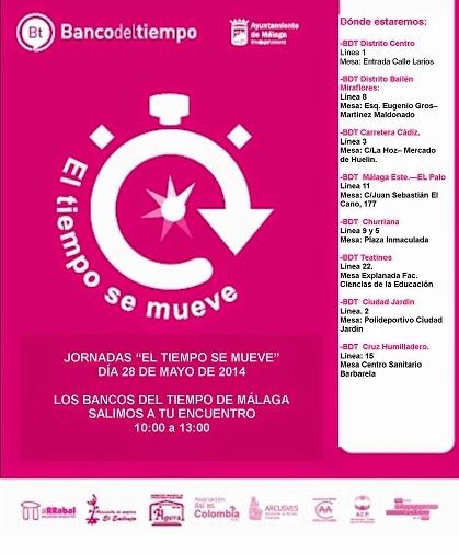 Banco del tiempo m laga mayo 2014 for Oficina emt malaga