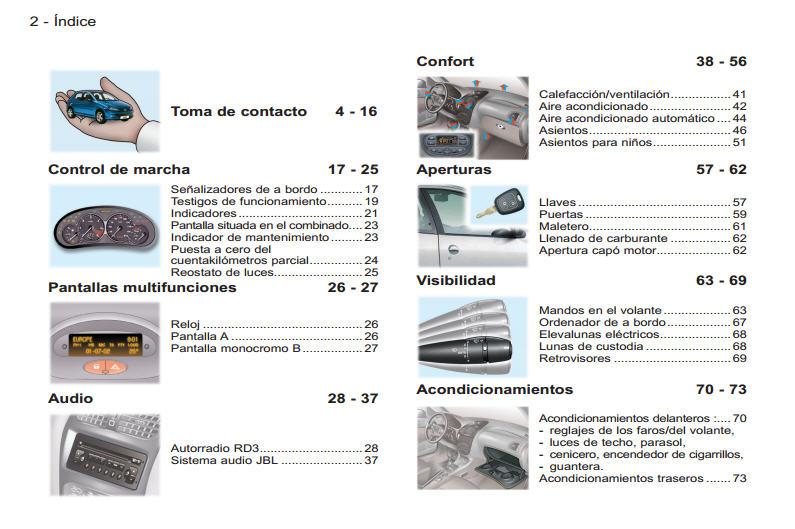 206 manual del usuario parte 1 de 2. Black Bedroom Furniture Sets. Home Design Ideas