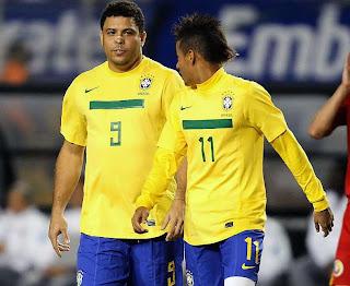 Ronaldo cree que Neymar sera el mejor del mundo
