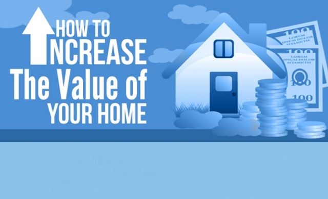 How to increase the value of your home infographic for How to increase home value