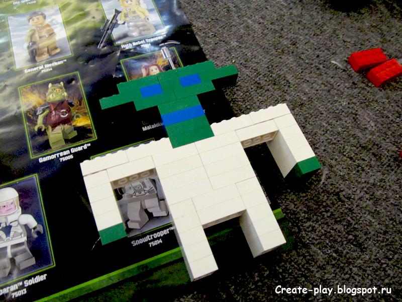 Йода из Лего