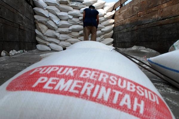 Pupuk Bersubsidi. Kotabumi Lampung Utara