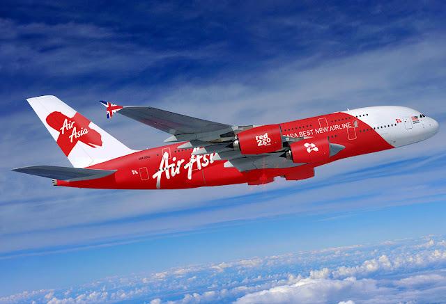 Foto Gambar Pesawat Terbang Air Asia 32